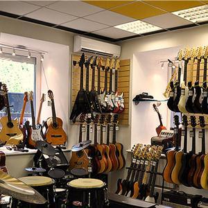 Музыкальные магазины Моргаушей
